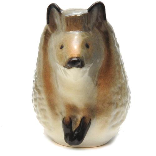 European Hedgehog Lomonosov Figure