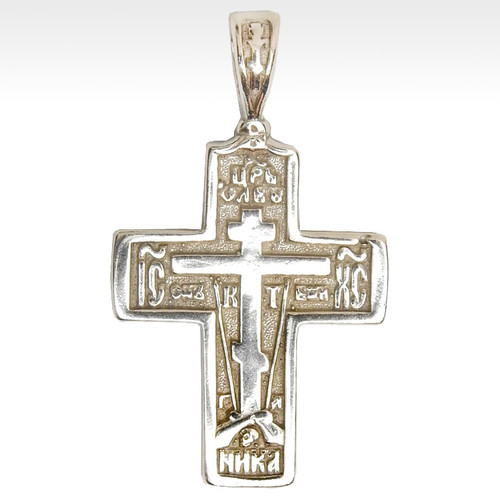 Orthodox Sterling Soldier's Cross