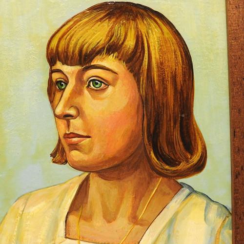 Marina Ivanovna Tsvetaeva Small Painting