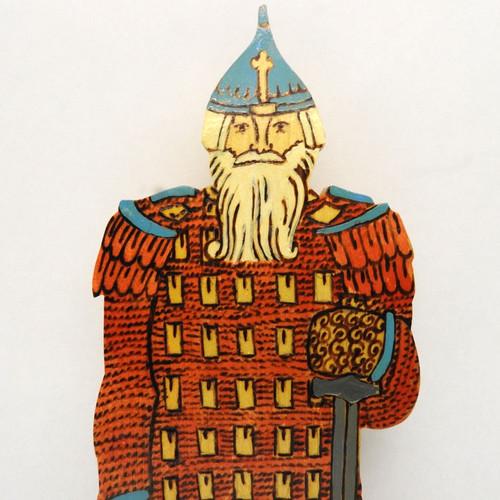 Ilya Muromets in Armor