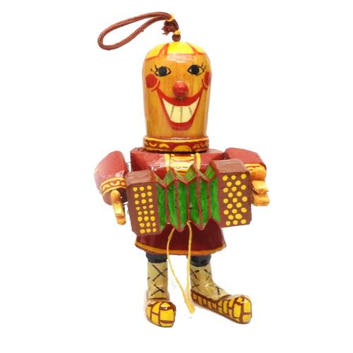 Comical Bayanist Ornament