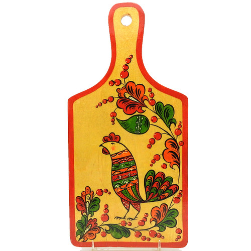 Gorodets Painted Cutting Board