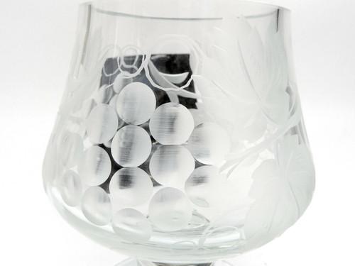 Russian Crystal Cognac Snifter