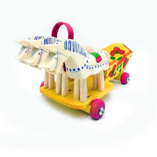 "Fedoseyevo Village Troika ""Splinter Toy"""