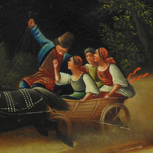 Summer Troika Visnhyakov c. 1880