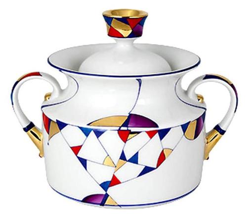 Kaleidoscope Sugar Bowl [Lomonosov]