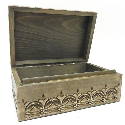 The Holy Trinity-St. Sergius Lavra Carved Box
