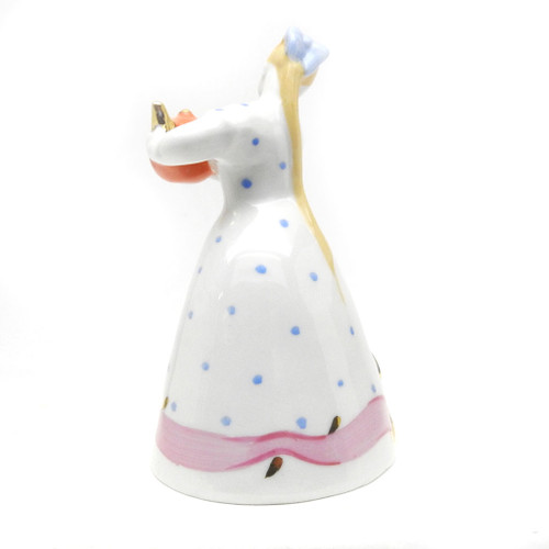 Girl with Teapot [Vintage Dulevo]