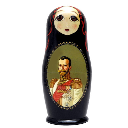 Tsar Nicholas II with his Royal Family Matryoshka