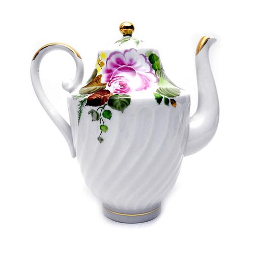 "Lomonosov Coffee Pot ""Summer-time"""