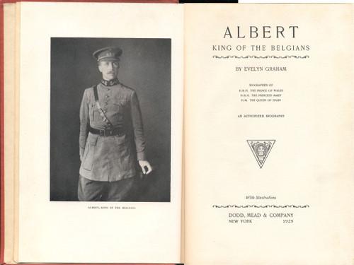 Albert King of the Belgians [1929]