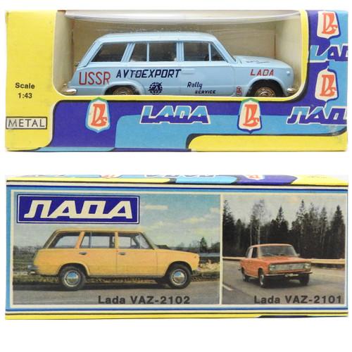 Scale Model Lada Avtoexport VAZ 2102