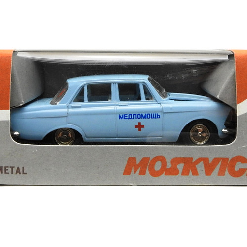 Scale Model Moskvich 412 Medical Care
