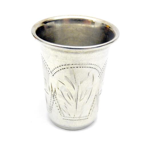 Sterling silver Antique Vodka shot, Kiev