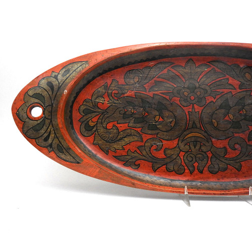 Early 20th century Khokhloma Tray