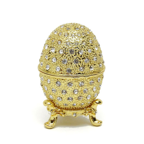 Golden Romanov Faberge Egg