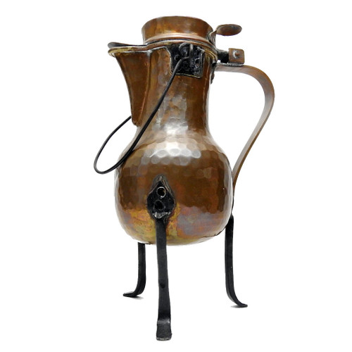 Coquemar Fireplace Kettle, 19th c.