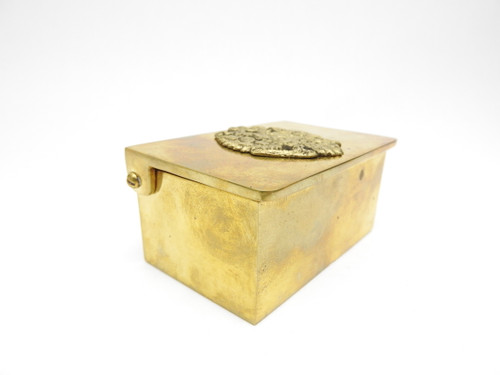Heavy Brass Eagle Box