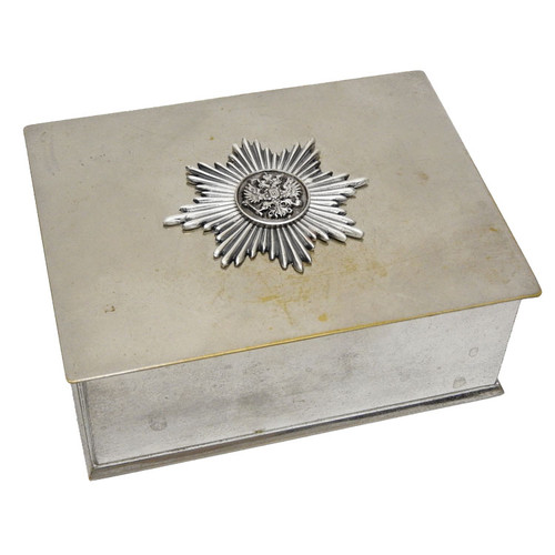 Russian Imperial Starburst Eagle Box