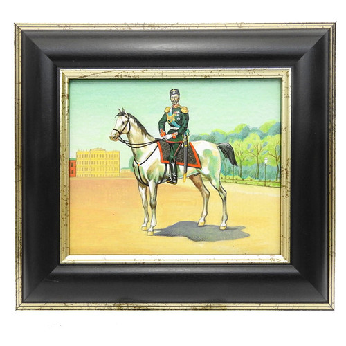 Russian Masterpiece Painting Nicholas II