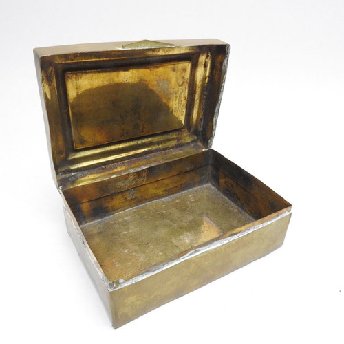 Romanov Father and Son Brass Box