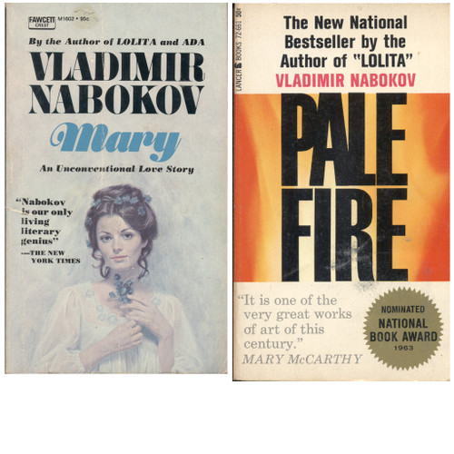 Mary and Pale Fire - Front Covers