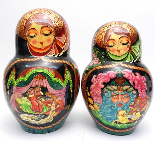"Super 22-pc Russian Art Matryoshka ""Ruslan"""