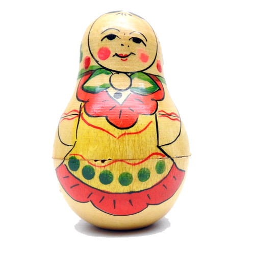 Mordva Roly Poly Chime Doll