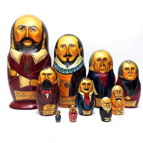 Western Literature Authors Art Doll