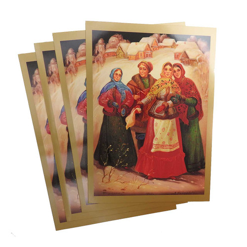 Russian Lacquer Note Card