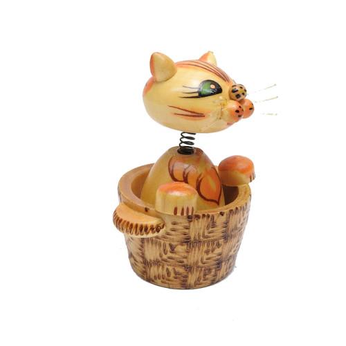 Murzik Cat in the Basket