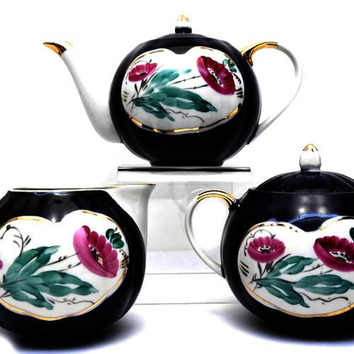 """Vintage """"Agashka"""" Tea Service"""