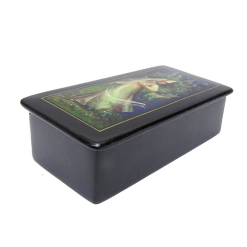 Lubava from Sadko Fedoskino Lacquer Box 1988