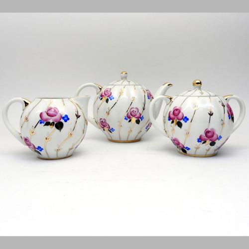Antique Roses Tea Service