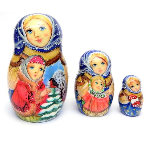 Winter Games Artistic Matryoshka