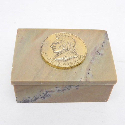 Nikolai Gogol Medallion Box