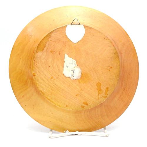 Decorative Wood Plate [Bulgaria]