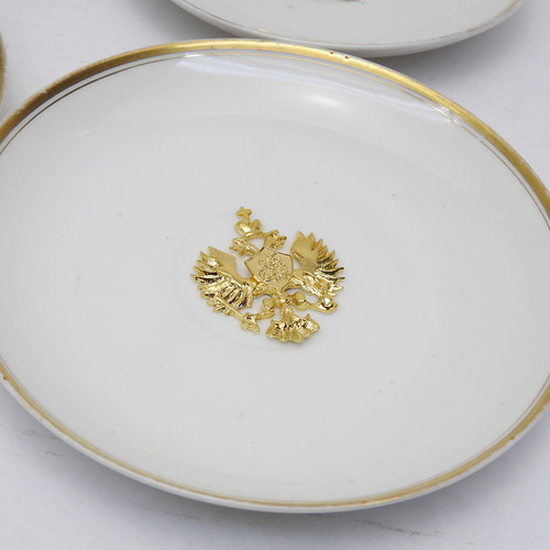 Royal Workshop - Double Headed Eagle Plates