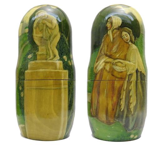 Works of Borisov-Musatov Art Matryoshka