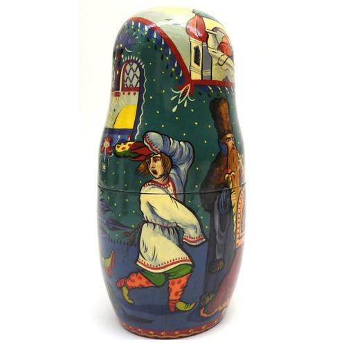 3rd Doll - Konyok Gorbunok (Конёк Горбунок) Art Matryoshka