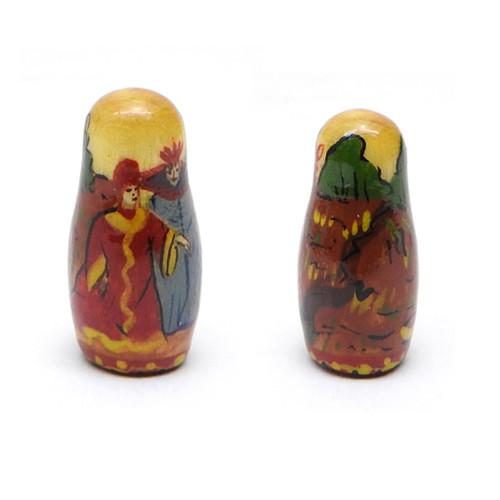 10th Doll both sides - Konyok Gorbunok (Конёк Горбунок) Art Matryoshka