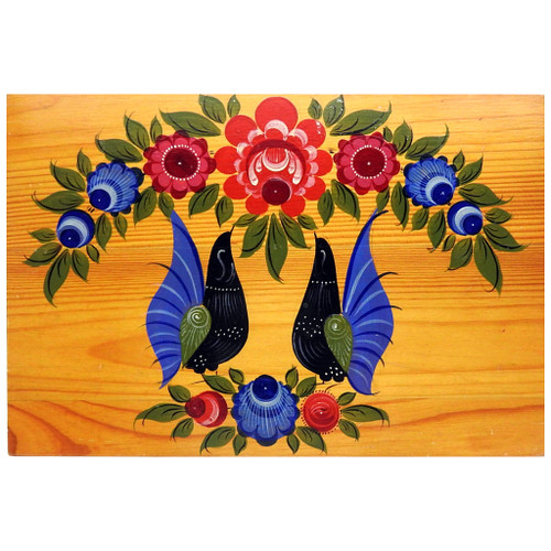 Gorodets Painted Panel