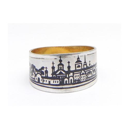 Niello Men's Ring