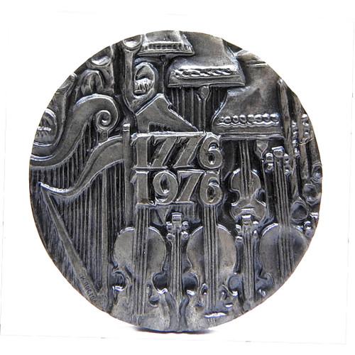 Bolshoi Ballet Medal 925 silver 1976