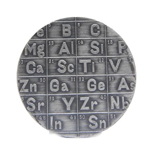 Dmitri Mendeleev Medal 925 silver