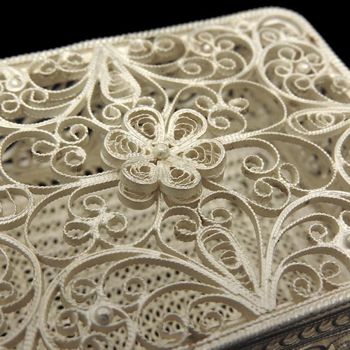 Russian Filigree Basket and Box Special