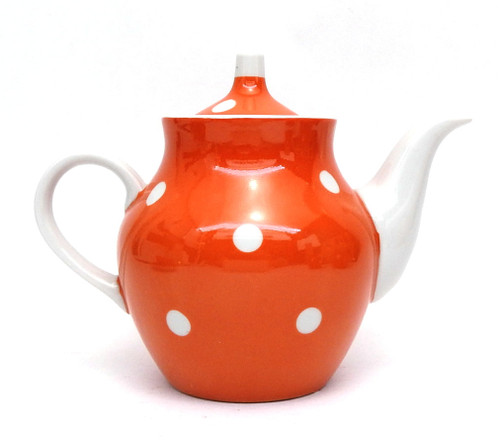 Polka-Dot Tea Set [USSR Dulevo]