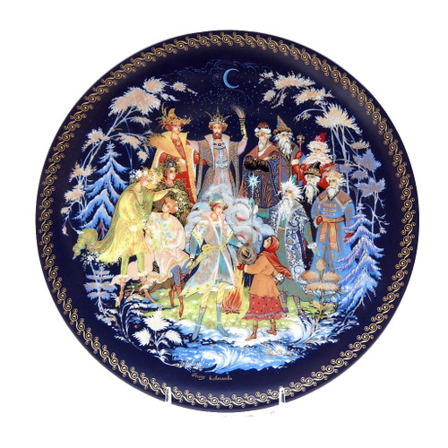 The Twelve Months 2nd Plate GIFTS OF THE SEASONS Series of 1993