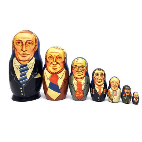 Vladimir Putin and His Predecessors