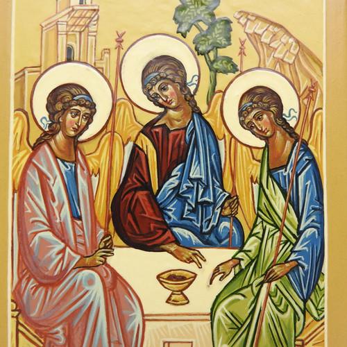 Holy Trinity Icon Hospitality of Abraham